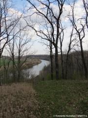 Вид на реку Дон весной
