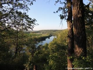 Вид на реку Дон летом