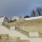 Обновлённый вход в Елецкий Знаменский монастырь
