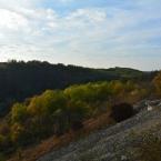 На склоне скалы