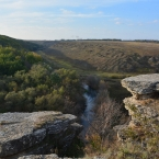Река Воргол в октябре