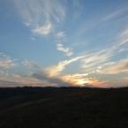Солнце уходит на запад