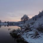 Зимний пейзаж у реки