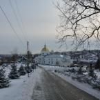 Знаменский монастырь зимой