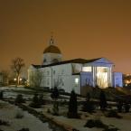 Знаменский женский монастырь в крещенскую ночь