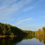 Пруд и осень