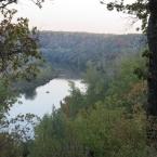 Река Дон осенью