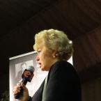 Людмила Нарусова на презентации книги «Сталин.Личное дело» 19.02.2015